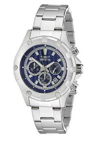 Invicta Specialty 15603 Silver Stainless Steel Men's Dress Chronograph Watch