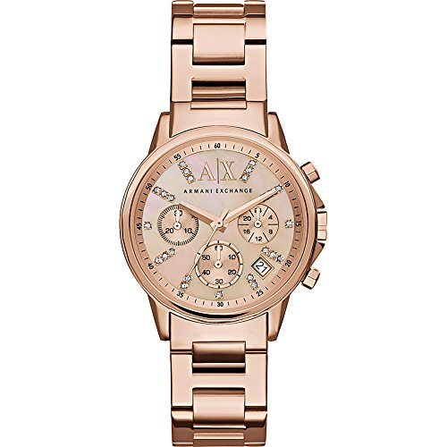 Armani Exchange Women's AX4326  Rose Gold  Watch