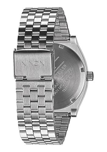 Nixon Men's A045-000 Minimal The Time Teller Stainless Steel Watch