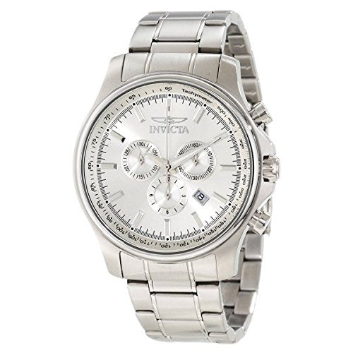 Invicta Men's 1833 Specialty Chronograph Silver Dial Stainless Steel Watch