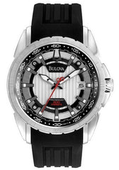 Bulova Men's 96B171 Precisionist Campton Stainless Steel Japanese Quartz Watch