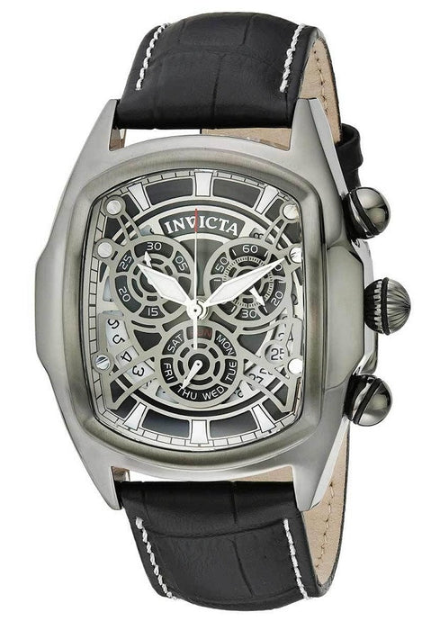 Invicta Men's 18843 Lupah Analog Display Swiss Quartz Black Watch