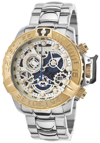 Invicta Men's 18234 Subaqua Analog Display Swiss Quartz Silver Watch