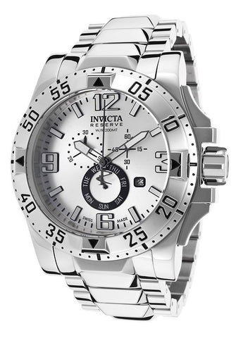 Invicta Men's 15309 Excursion Analog Display Swiss Quartz Silver Watch