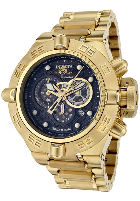 Invicta 6553 Men's Subaqua/Noma IV Chronograph 18k Gold Plated Stainless Steel