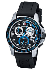 Wenger Men's 70790 Battalion Field Chrono Blue and Black Watch