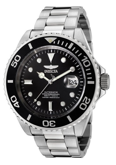 Invicta Men's F0066 Pro Diver Collection Automatic Stainless Steel Watch