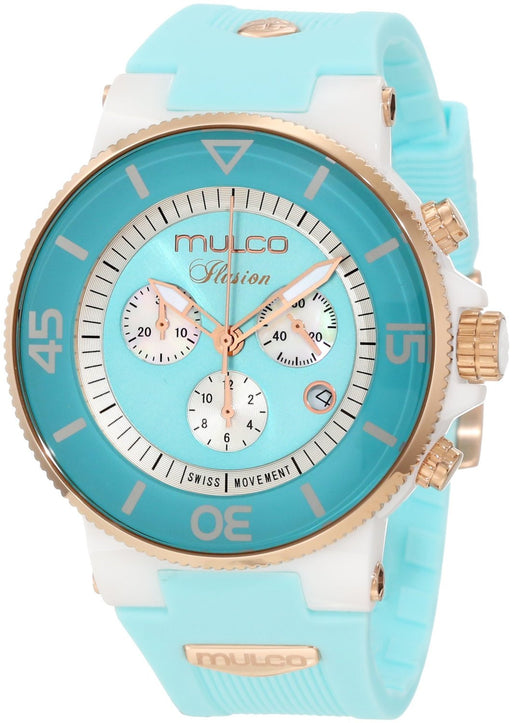 Mulco Unisex MW3-11009-053 Ilusion Ceramic Chronograph Swiss Movement Watch