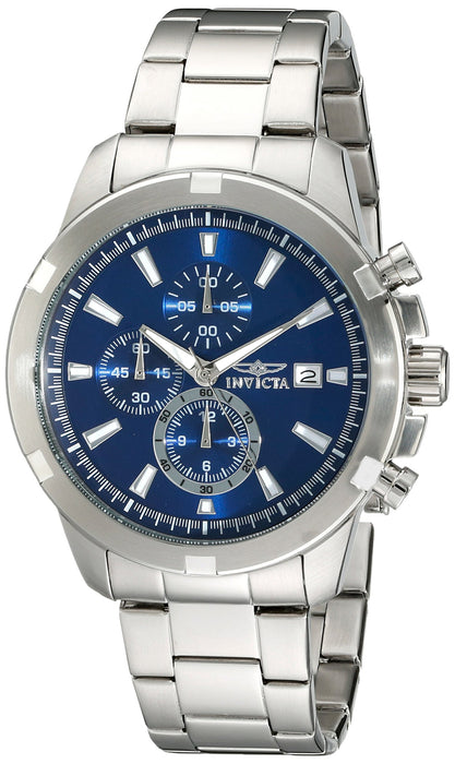 Invicta Men's 19221 Specialty Analog Display Japanese Quartz Silver Watch
