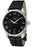 Eterna Men's Soleure Automatic Roman Numerals Black Crocodile