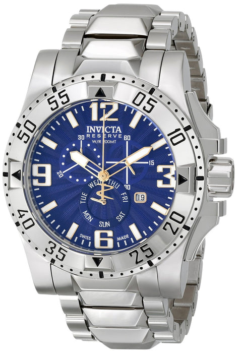 Invicta Men's 15304 Excursion Analog Display Swiss Quartz Silver Watch
