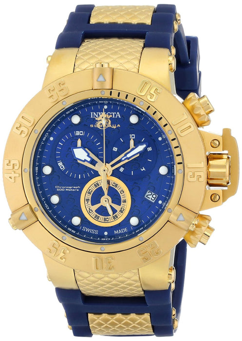 Invicta Men's 15800 Subaqua Analog Display Swiss Quartz Blue Watch