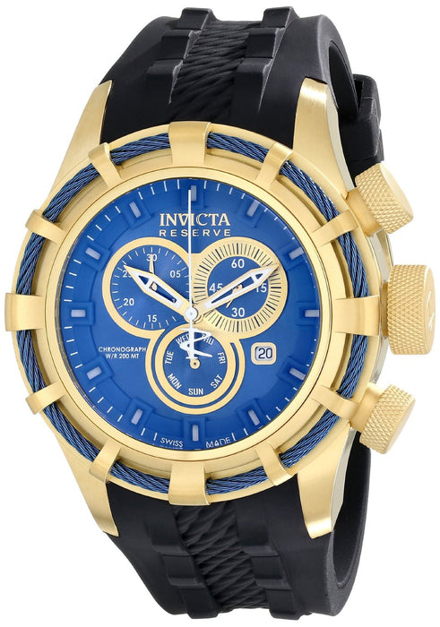 Invicta Men's 15785 Bolt Analog Display Swiss Quartz Black Watch