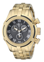 INVICTA 17159 Women's Bolt Chronograph 18K Gold Plated Steel Gunmetal Dial