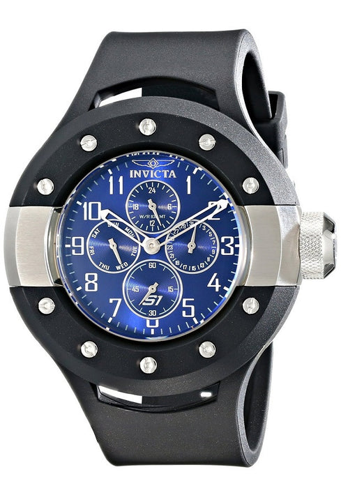 Invicta Men's 17390 S1 Rally Analog Display Japanese Quartz Black Watch