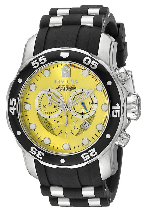 "Invicta Men's 6978 ""Pro Diver Collection"" Stainless Steel Watch with Black Band"