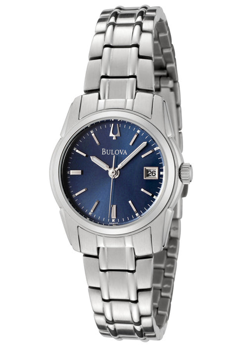 Bulova Women's 96M107 Blue Dial Bracelet Watch