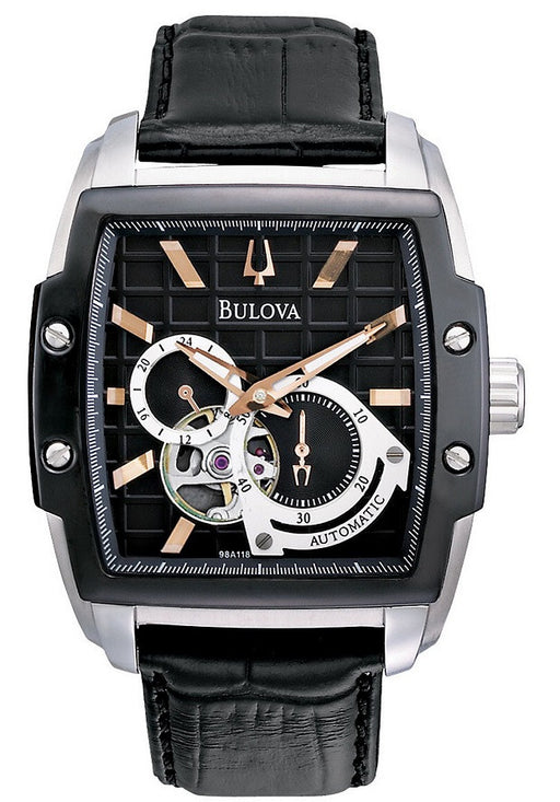 Bulova Men's 98A118 BVA Dual aperture dial Watch