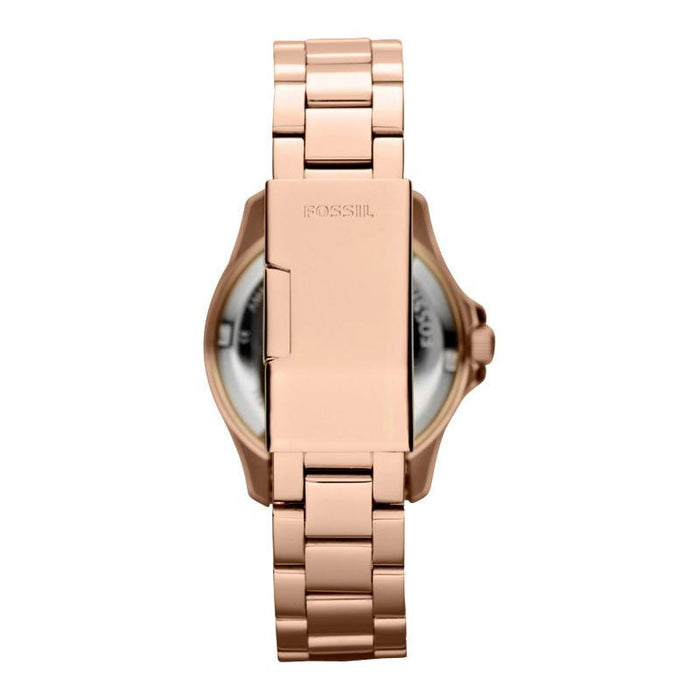 Fossil AM4454 Ladies RETRO TRAVELLER Rose Gold Watch