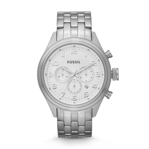 Fossil BQ1028 Asher Chronograph Stainless Steel Watch