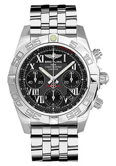Breitling Men's AB014012-BC04 Analog Display Swiss Automatic Silver Watch