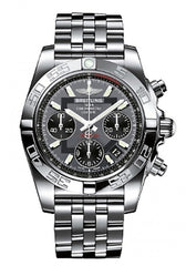 Breitling Men's AB014012/F554 Grey Dial Chronomat 41 Watch