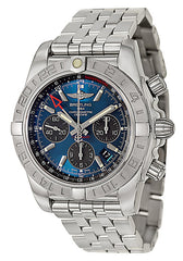 Breitling Men's AB042011-C851 Analog Display Swiss Automatic Silver Watch