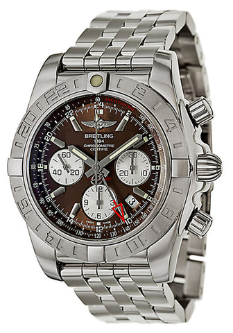 Breitling Men's AB042011-Q589 Chronomat Analog Display Swiss Automatic Silver Watch