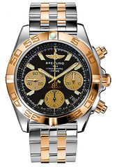Breitling Men's CB014012-BA53 Analog Display Swiss Automatic Two Tone Watch