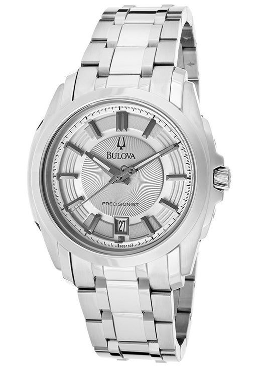 Bulova Men's 96B130 Precisionist Longwood Stainless-Steel Bracelet Watch