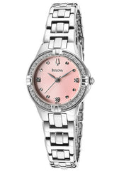 Bulova Women's 96R171 Diamond-Set Case Bracelet Watch