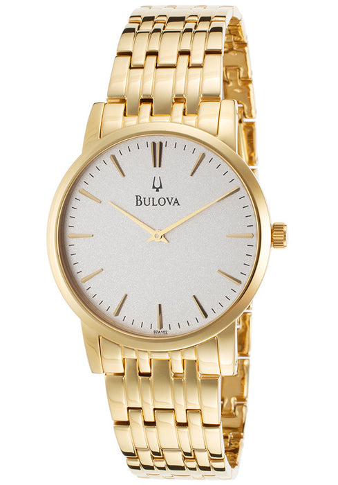 Bulova Men's 97A102 Dress Classic Goldtone Watch