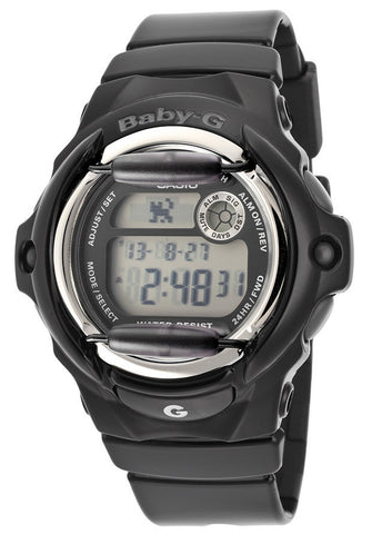 Casio BG169R-1CU  Women's Baby-G Digital Multi-Function Black Resin