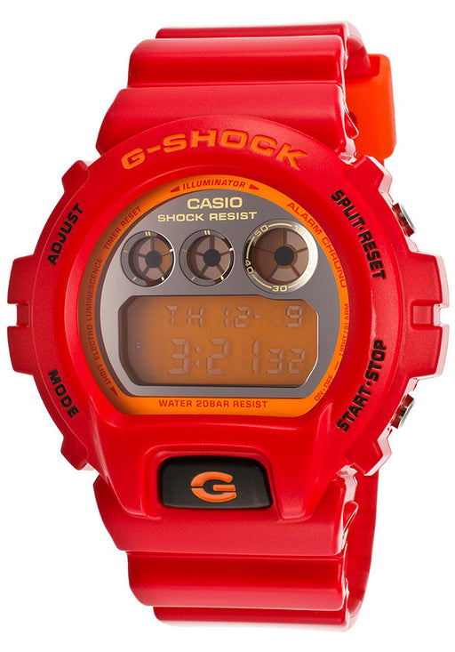 Casio DW6900CB-4CU G-Shock Digital Multi-Function Red Resin