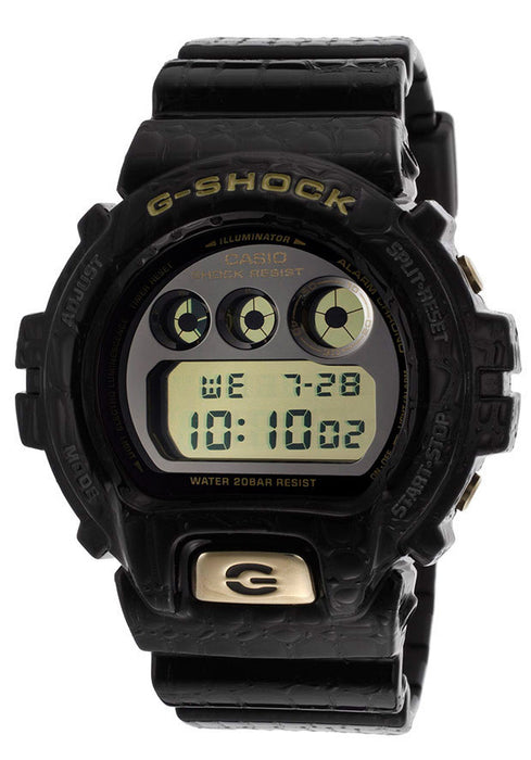 Casio DW6900CR-1CR Men's G-Shock Digital Multi-Function Gray Resin