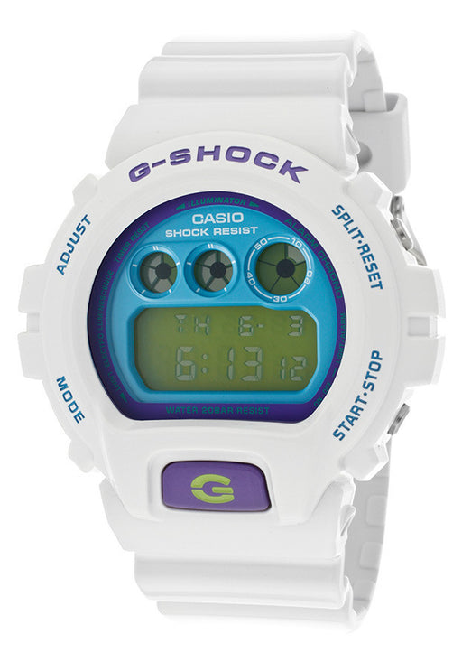 Casio DW6900CS-7CU  Men's G-Shock Digital Multi-Function White Resin
