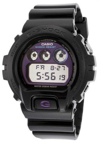 Casio DW6900MF-1CR Men's G-Shock Digital Multi-Function Black Resin