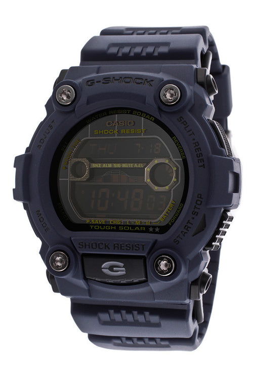 Casio GR7900NV-2CR Men's G-Shock Digital Multi-Function Navy Blue Digital