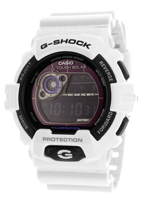 Casio GR8900A-7CR Men's G-Shock Digital Multi-Function White Resin
