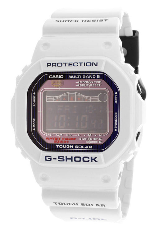 Casio GWX5600C-7CR Men's G-Shock Digital Multi-Function White Resin
