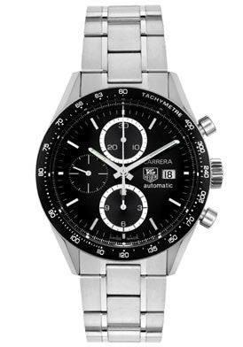 TAG-CV2010.BA0794 Men's Carrera Automatic Chronograph Stainless Steel