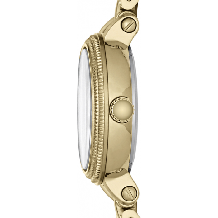FOSSIL ES3194 Heather Mini Three Hand Stainless Steel Gold-Tone Watch