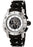 Invicta F0033 Men's Sea Spider II Chronograph Black Polyurethane & Stainless Steel