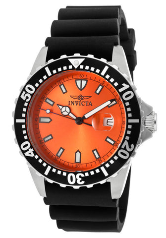 Invicta Men's 10916 Pro Diver Orange Dial Watch