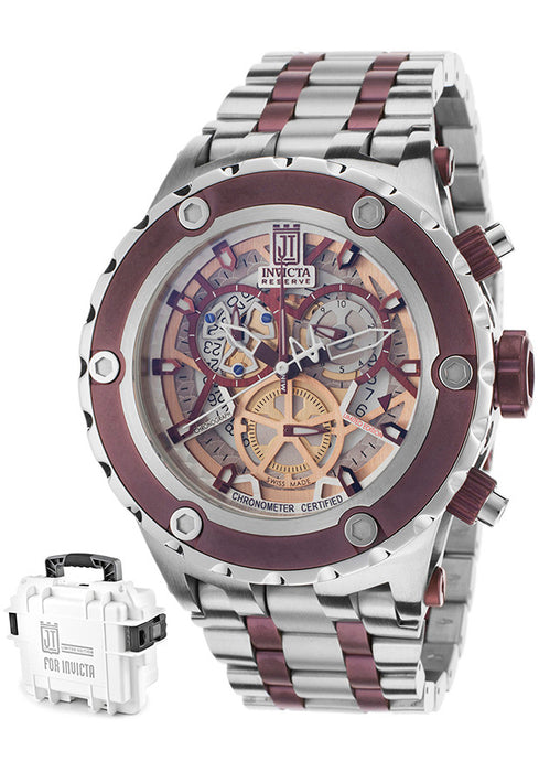 Invicta Men's 12959 Jason Taylor Analog Display Swiss Quartz Two Tone Watch