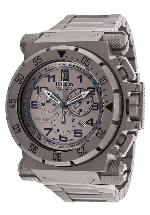 Invicta 14478BWB Men's Jason Taylor Limited Ed. of 999 Chronograph Titanium