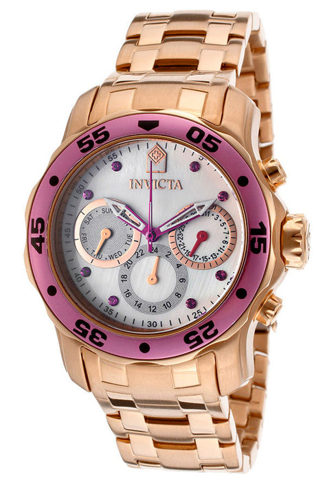 Invicta Women's 14945 Pro Diver Analog Display Swiss Quartz Rose Gold Watch