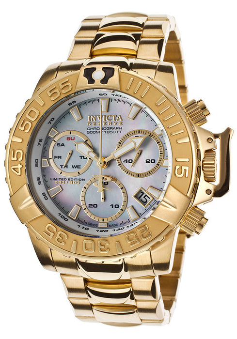 Invicta 15129 Reserve Subaqua Noma II Ltd Ed Swiss Made Quartz Chronograph Watch