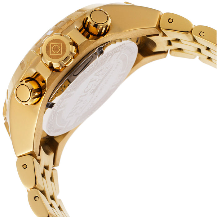Invicta Men's 15546 Pro Diver Analog Display Japanese Quartz Gold Watch