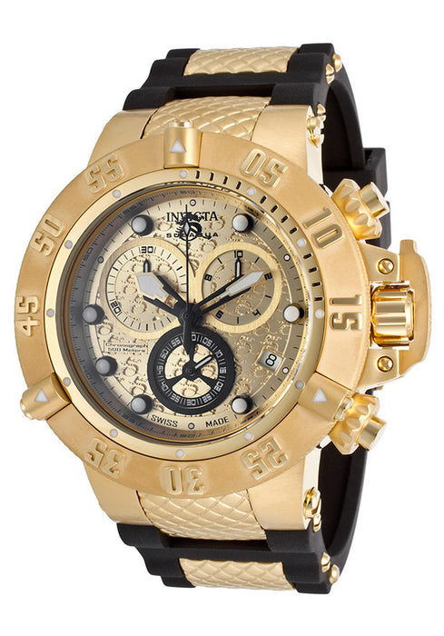 Invicta 15802 Subaqua Noma Yellow Gold, Chronograph Swiss made